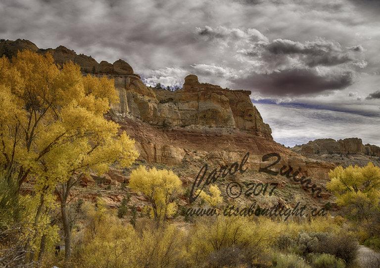 Rock formation along burr trail, by Carol Quinn. ID _1CQ6125