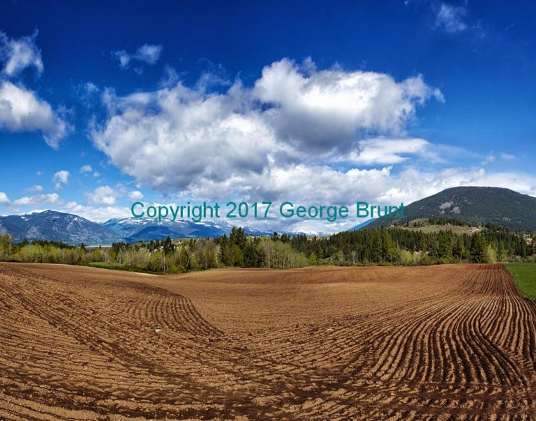 Sharpened Ploughed field Creston, by George Brunt. ID 7CQ3958-64