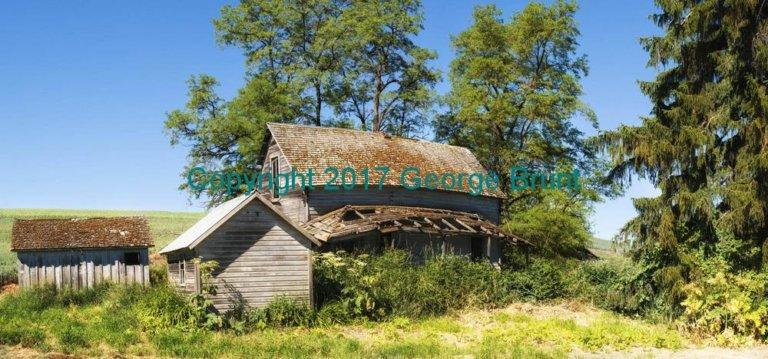 Old Farm House, by George Brunt. ID 8gb5606-11