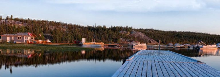 Sunrise Prelude Lake, NWT, Canada, by Carol Quinn. ID 8gb3885-87 rev 1b