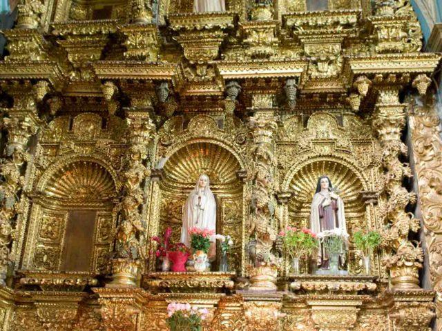 Old Church, Quito, Ecuador, by George Brunt. ID GEB2322